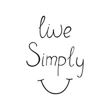 Live Simply Positive Quote Abo...
