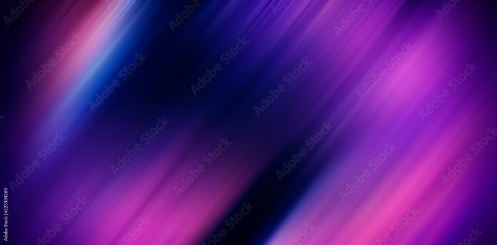 Fototapety, obrazy: Blurred background, abstract colored diagonal lines - purple, black, red. Web banner.