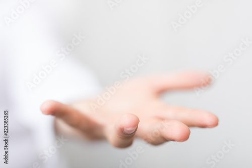 Fototapety, obrazy: open hand
