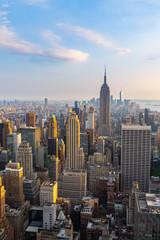 Manhattan - View from Top of the Rock - Rockefeller Center - New York
