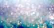 canvas print picture - Beautiful abstract shiny light and glitter background
