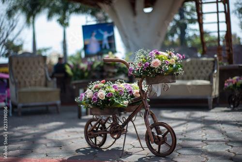 Arreglo Floral Para Evento Social Montado En Pequeña