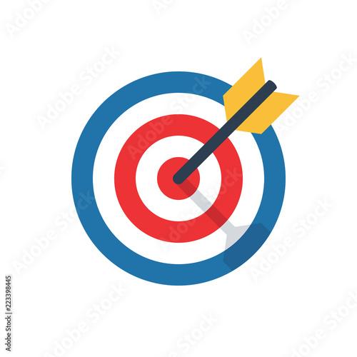 Fotografía  target, challenge, objective icon