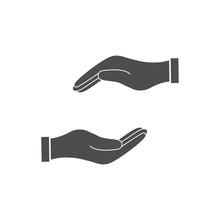 Hand. Vector Illustration, Fla...