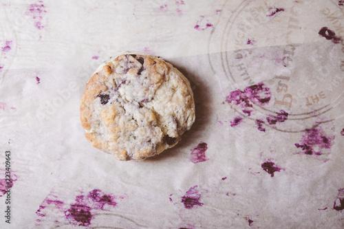 Fotografie, Obraz  home made blueberry scones