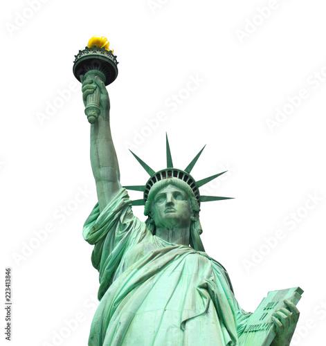 Montage in der Fensternische New York City Miss Liberty