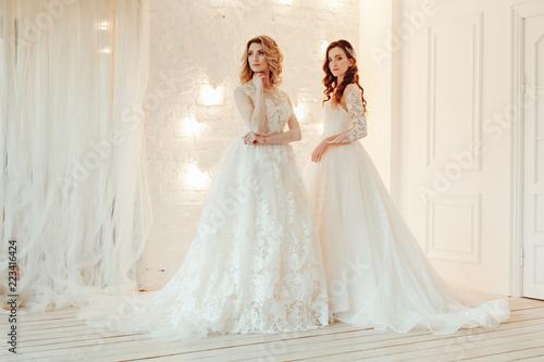 Fotografía  beautiful bride in a chic wedding dress