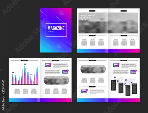 Fototapety, obrazy: Vector brochure template