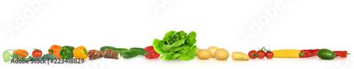 Poster Légumes frais Gemüse 345