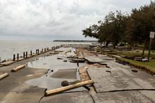 Hurricane Florence Damage In O...