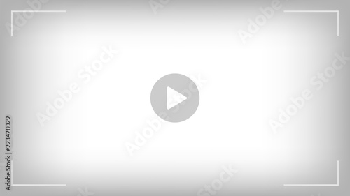 Pinturas sobre lienzo  Play video sign vector on transparent background.
