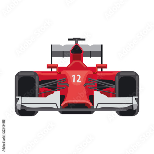 Foto op Canvas Cars Vector illustration of car and rally icon. Collection of car and race stock vector illustration.