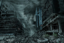 Portrayal Of A City Destroyed ...