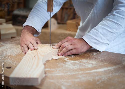 Artesano de la madera