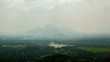natural landscape from the top Sigiriya, Sri Lanka timelapse