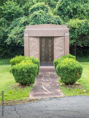 Family mausoleum Fototapeta