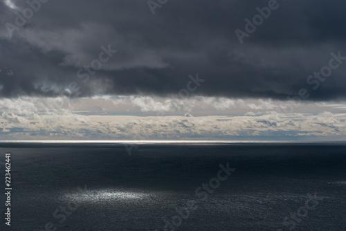 Foto op Plexiglas Grijs Ocean