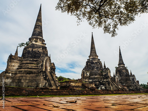 Wat Phra Si Sanphet , Ayutthaya Thailand - ancient city and historical place