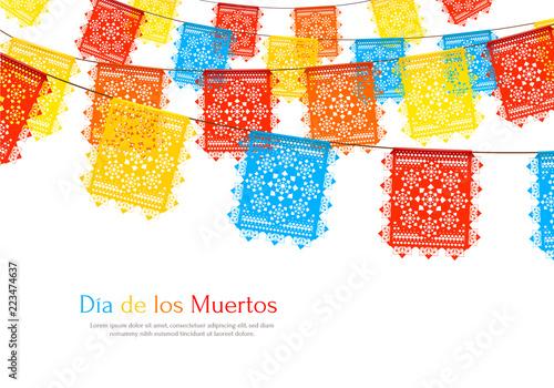 Fotografía  Mexico Flags Realistic Background