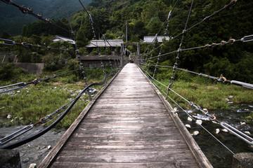 Fototapeta 吊り橋