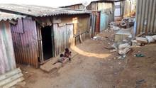 Ghetto And Slums In Delhi India