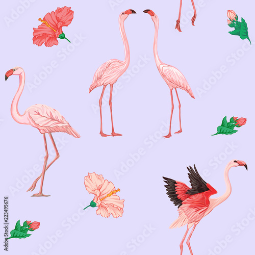 Photo Stands Flamingo Print