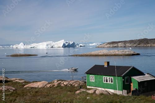 Foto op Aluminium Poolcirkel Grönland   Ilulisat