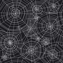 Abstract Spider Web Halloween ...