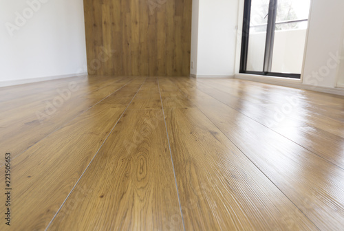 Fototapeta マンション・リフォーム・リビングの床 obraz na płótnie