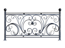 Decorative Steel Banisters, Fence.