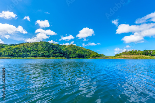Hanabanilla Natural Reserve scene-Villa Clara,Cuba Fototapete
