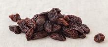 Dried Raisins Closeup