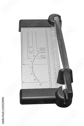 Fotografía  paper cutter isolated on white background