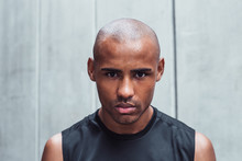 Perfect Look. Portrait Of Handsome Young Man In Sportswear Looking At Camera