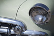 vintage car detail light and turn signal