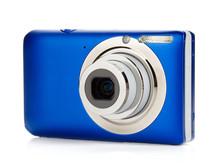Blue Compact Camera