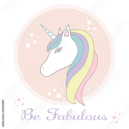 Cute Adorable Pastel Unicorn Background Wallpaper Buy This