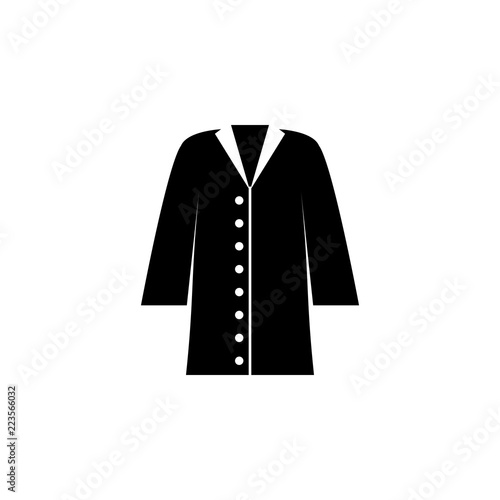 Fotografie, Tablou  coat icon on white background