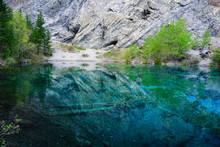 The Grassi Lakes, Canmore, Alberta, Canada
