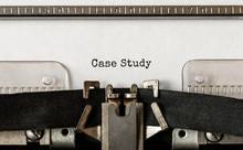 Text Case Study Typed On Retro...