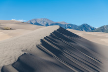 Sand Dune And Dramatic Shadows...
