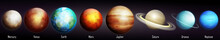 Planets Of The Solar System Ve...