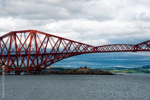 Keuken foto achterwand Bruggen Victorian style Forth Bridge (Edinburgh, Scotland)