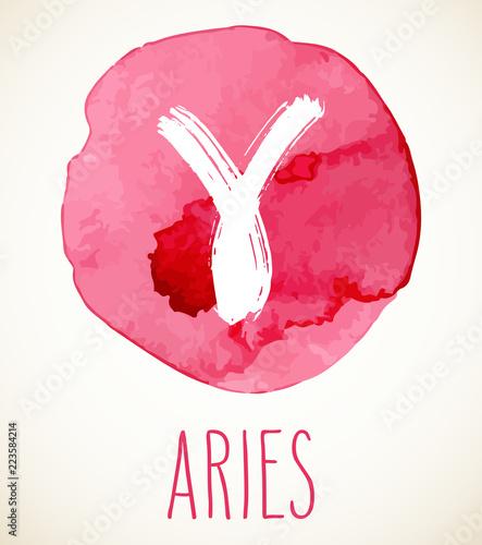 Photo Aries Zodiac sign design element