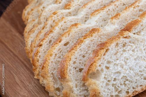Fotografie, Obraz  Close-up of sliced bread