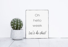 Oh Hello Week Let's Do This It...