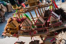 Wooden Souvenir Market In Siem...