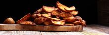 Baked Potato Wedges. Homemade ...