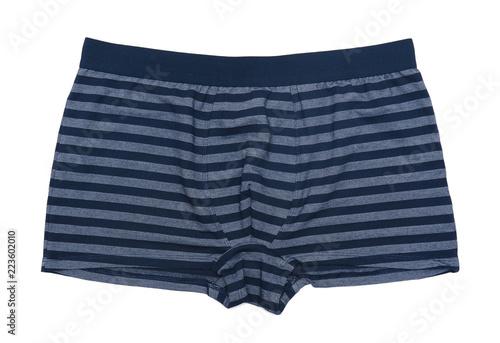Fotografía  Boxer shorts isolated on white background