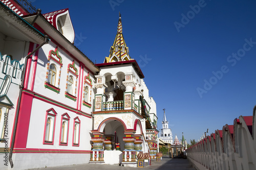 Foto op Plexiglas Moskou Moscow Russia:Kremlin in Izmailovo Architectural complex, historical museum, entertainment center.